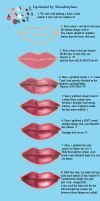Lip Tutorial Photoshop by MoonFairyLuna