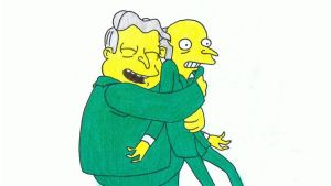 Simpsons Drawing #3 - Burns, Baby Burns by SIMPSONSDRAWER