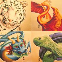 Chinese Celestial Animals by grace2design