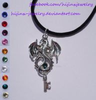 Customizable Dragon Fantasy Key by Hijinx-Jewelry