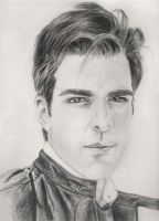Zachary Quinto by duyeqing
