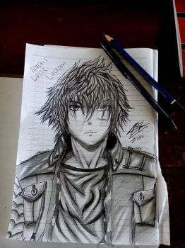 Noctis Lucis Caelum Drawing (reupload) by ZidniAdibiArt126