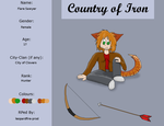CoI App: Flare Sawyer by Leo-of-Gah