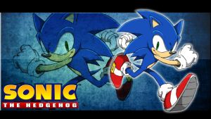 Sonic the hedgehog wallpaper 2 by BlueSpeed360