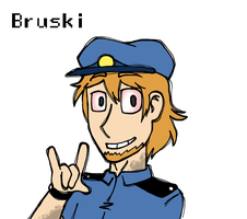 FNAF: Bruski, the phone guy of FNAF 3 by Chaos55t
