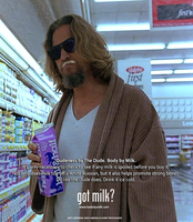 Jeff Lebowski Got Milk? Ad by MrAngryDog