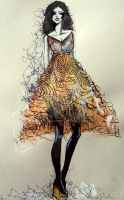 Fashion Illustration VI. by Renny222