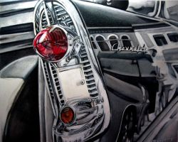 Reflections On A Chevy by outofmypen