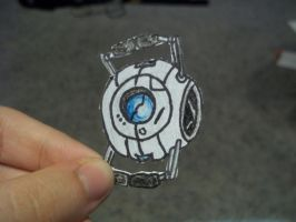 Portal 2 Paperbot- Wheatley by koala823