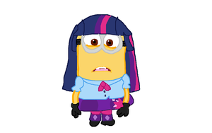 Despicable Me - Minion Mlp Equestria Girls Dave by DanielaEspinoza19