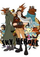 Comic page Sky Heroes by RuchiiP