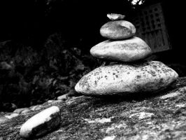 heap of stones by Aoi-shii
