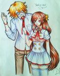 My OC's Usui and Yumi-chan by ilovetheanime