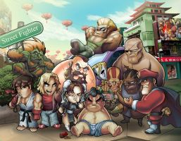 StreetFighterTribute-choseen by Daniel-Velez