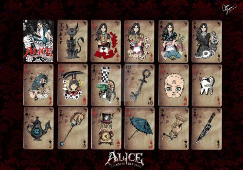 Alice madness returns-poker by mizueyes777