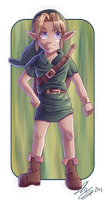 THLOZ: The Hero Of Time by SchteeveRoberts