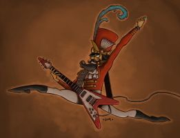 Rockin' Nutcracker by Kennon9