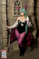 Gothic Morrigan Aensland by Pokypandas