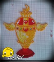 Sailor Moon - Holy Grail Perler (Mini) by Awi87