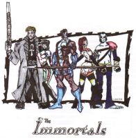 The Immortals by JakeEDangerously