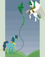 flying fishhh by SpiderHill