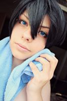 Haruka Nanase Cosplay: After bath by karinWaterproof