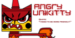 Angry Unikitty by SteelElementFinal