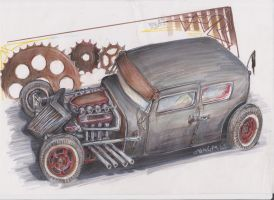 RatRod by HorcikDesigns