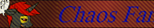 Chaos Fan Button (Request) by DollCile