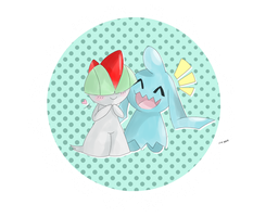 Ralts and Wynaut