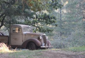 '37 Chevy pick-up truck by finhead4ever