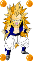 Gotenks by RedDBZ