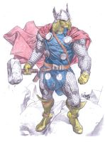 Thor_God_of_Thunder_by_MCornel by CDL113