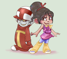 Turbo and the racers by Kittykatpaws