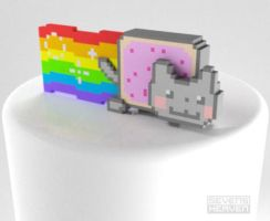 Nyan Cat by CreamTroll