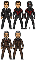 Hank Pym/ Ant Man by Almejito