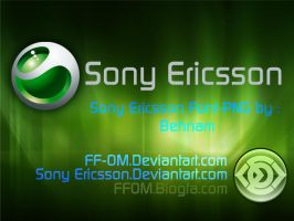 SonyEricsson Font+PNGs vr-1.0 by sonyericsson