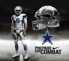 Dallas Cowboys Away by DrunkenMoonkey