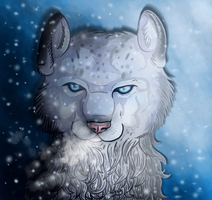 Snow leopard by VelociyDrawing17