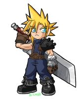 stumpy Cloud Strife by rongs1234