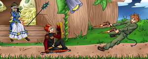 Maplestory Shoot Out by SinisterBunneh
