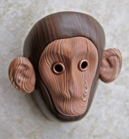 Little Monkey Tribal Mask by FauxHead