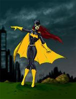 Batgirl - colored by DW-DeathWisH