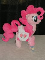 Singing Pinkie Pie Plush by KarasuNezumi