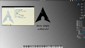 Another Arch Linux ScreenShot by samiuvic