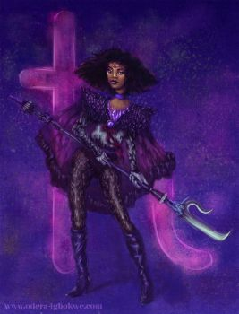 Odera Redesigns Sailor Saturn by Odyism