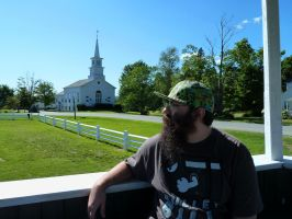 Craftsbury Common VT by OwenneiL