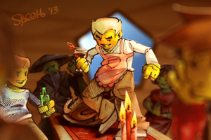 Ninjago - Family by skcolb