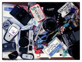 contents of my bag by aptrick
