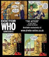 Doctor Who The Aztecs by ShawnVanBriesen